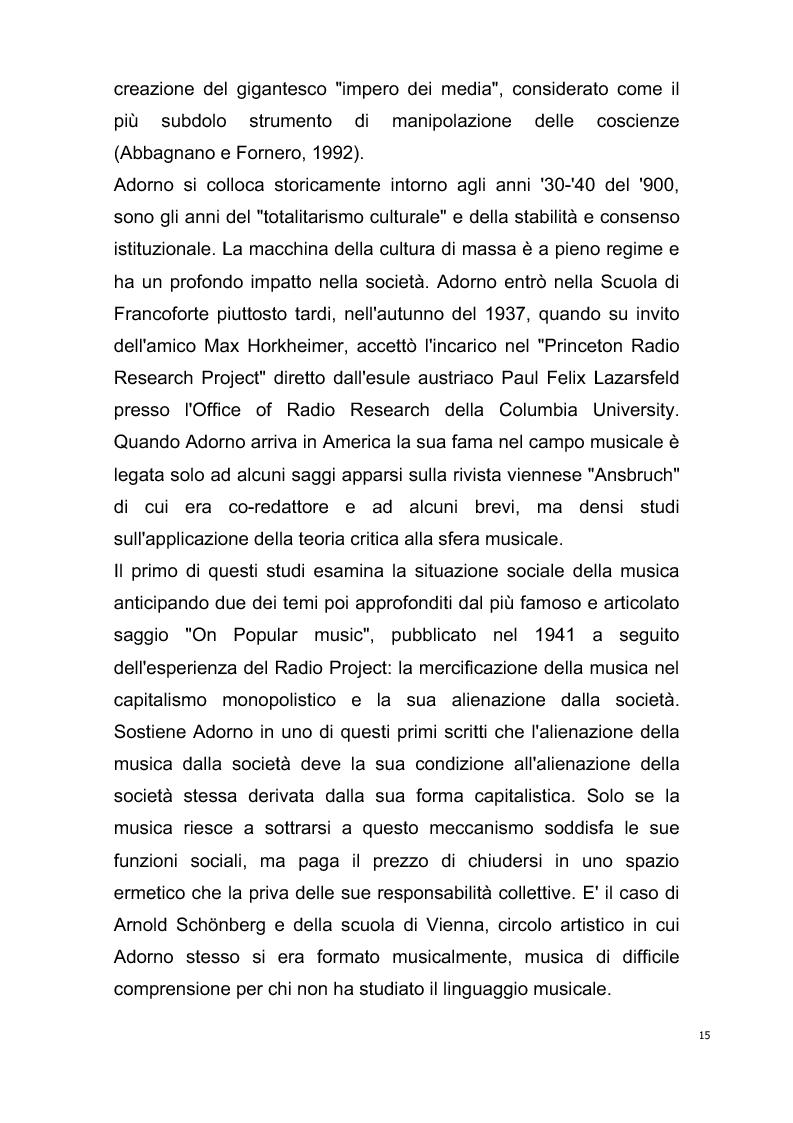 Anteprima della tesi: Origini del giornalismo musicale italiano nelle riviste specializzate degli anni '70, Pagina 13
