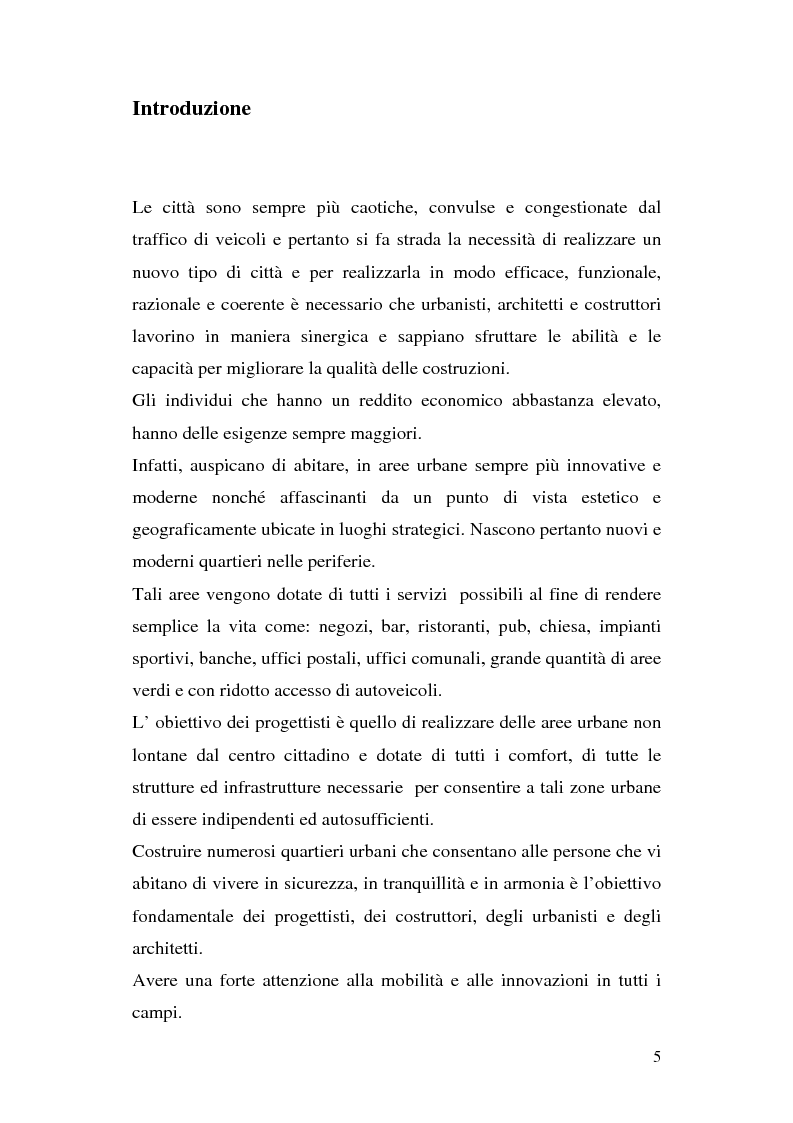 Anteprima della tesi: Tra città e periferia nel postmoderno, analisi di alcuni aspetti innovativi, Pagina 1