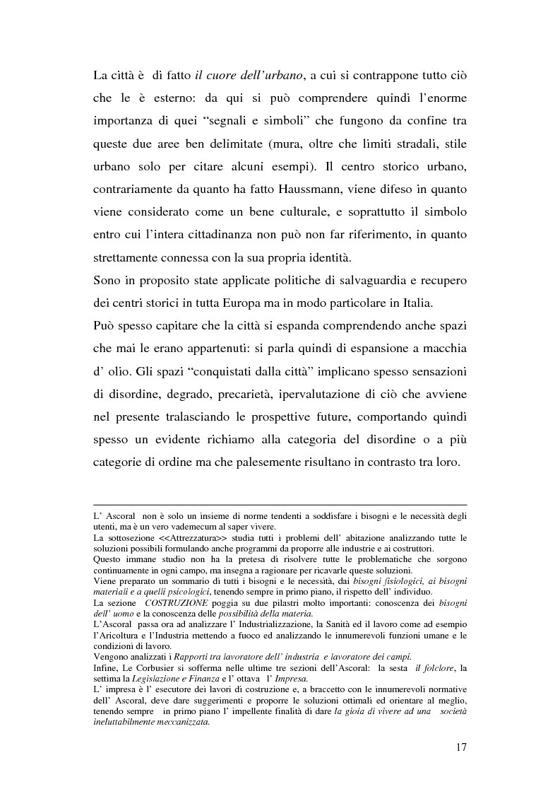 Anteprima della tesi: Tra città e periferia nel postmoderno, analisi di alcuni aspetti innovativi, Pagina 13