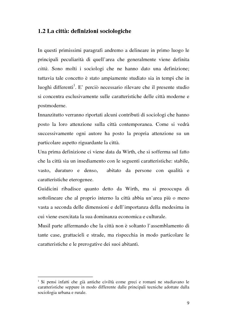 Anteprima della tesi: Tra città e periferia nel postmoderno, analisi di alcuni aspetti innovativi, Pagina 5
