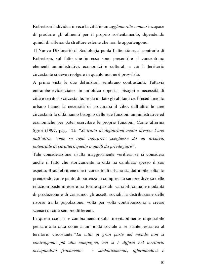 Anteprima della tesi: Tra città e periferia nel postmoderno, analisi di alcuni aspetti innovativi, Pagina 6