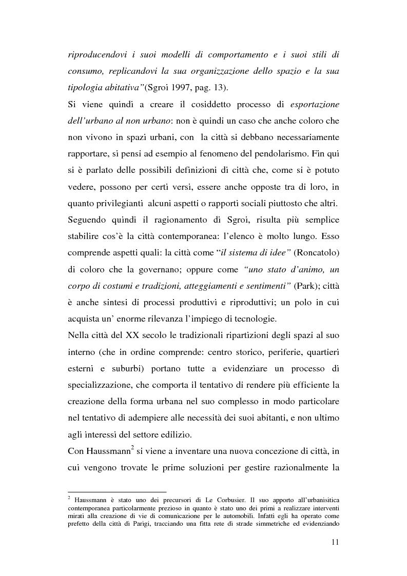 Anteprima della tesi: Tra città e periferia nel postmoderno, analisi di alcuni aspetti innovativi, Pagina 7