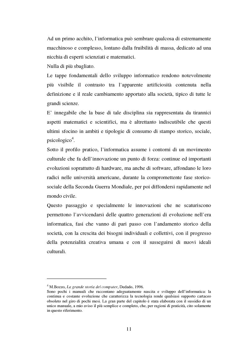 Anteprima della tesi: Aspetti psicologici del processo di brand building nel campo informatico. Il caso Mac., Pagina 7