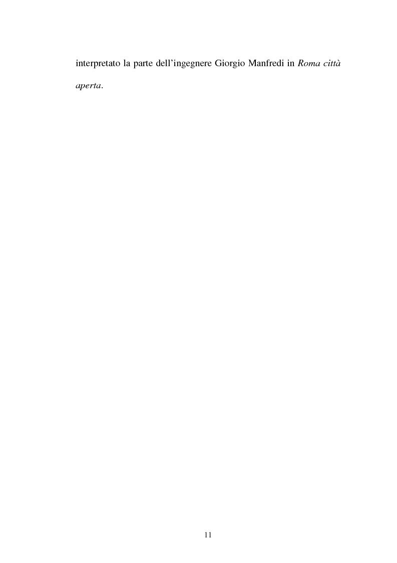 Anteprima della tesi: La continuità tematica ed artistica di Roberto Rossellini da ''La nave bianca'' a ''Germania anno zero'', Pagina 11