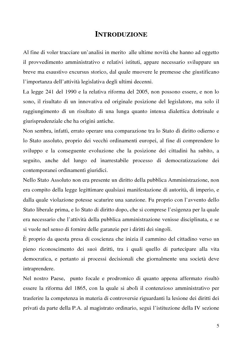 Anteprima della tesi: Invalidità formale degli atti amministrativi, Pagina 1