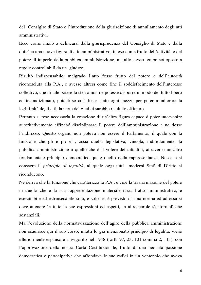 Anteprima della tesi: Invalidità formale degli atti amministrativi, Pagina 2