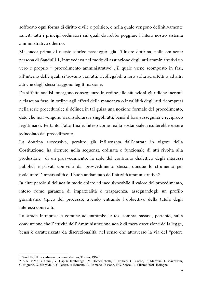 Anteprima della tesi: Invalidità formale degli atti amministrativi, Pagina 3