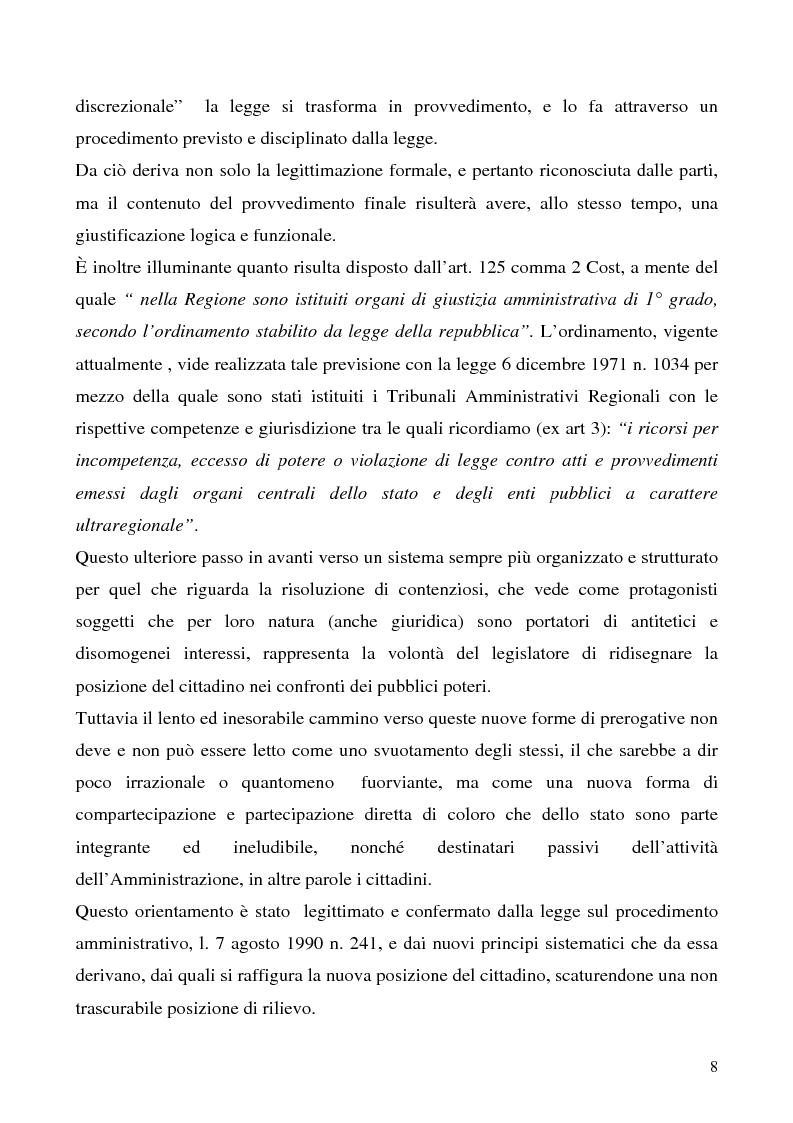 Anteprima della tesi: Invalidità formale degli atti amministrativi, Pagina 4