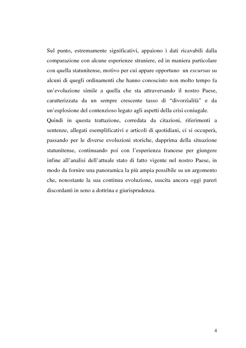 Anteprima della tesi: I contratti prematrimoniali, Pagina 2