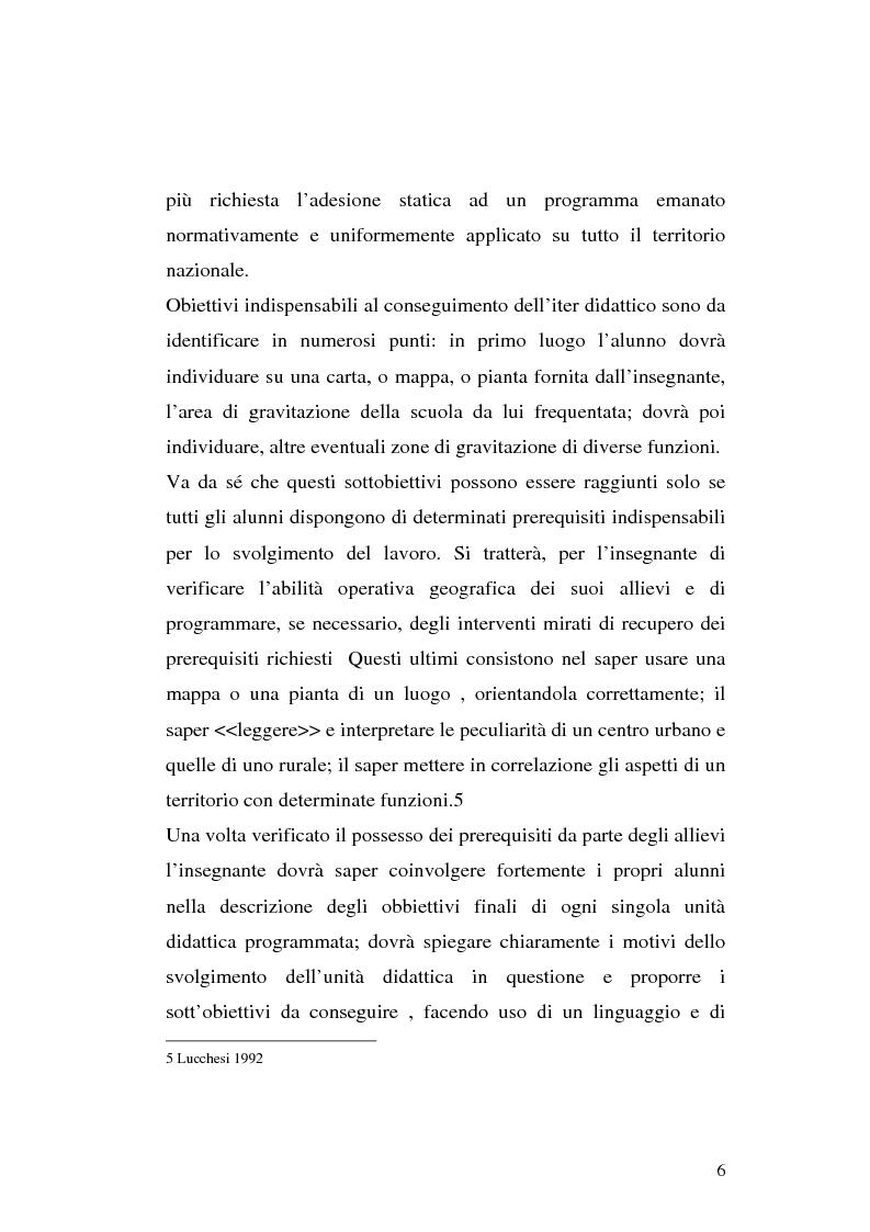 Anteprima della tesi: L'apprendimento dei concetti topologici nella scuola dell'infanzia, Pagina 6