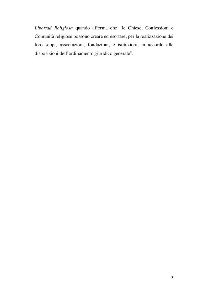 Anteprima della tesi: La nozione di confessione religiosa nell'ordinamento giuridico italiano e spagnolo, Pagina 4
