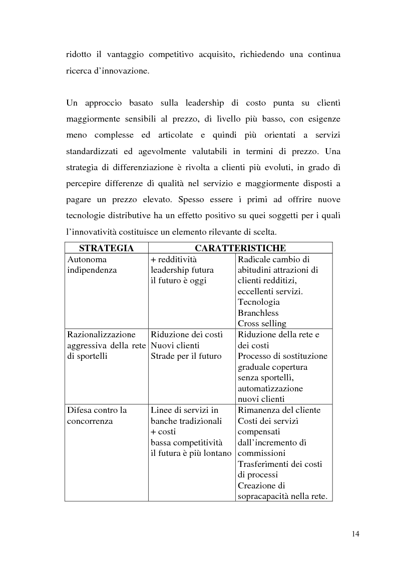Anteprima della tesi: Il bilancio di esercizio della banca on-line, Pagina 11