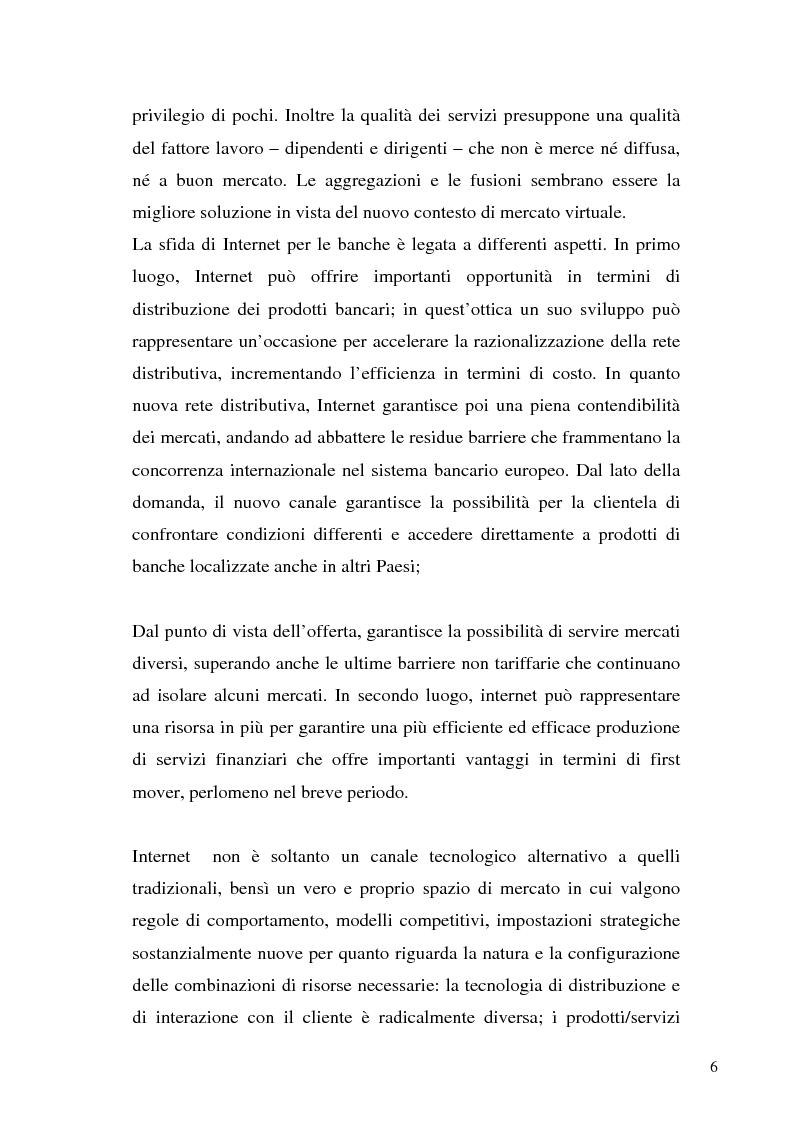 Anteprima della tesi: Il bilancio di esercizio della banca on-line, Pagina 3