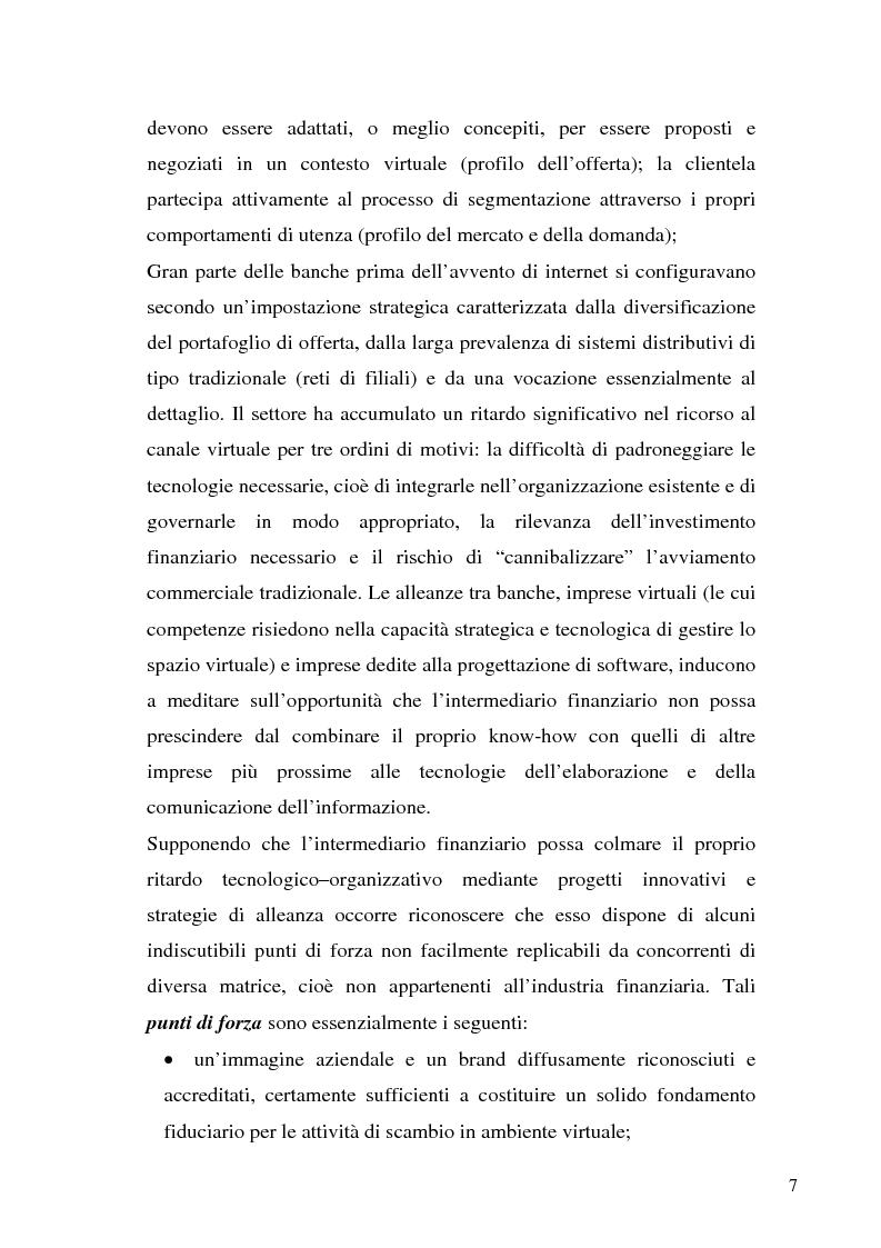 Anteprima della tesi: Il bilancio di esercizio della banca on-line, Pagina 4