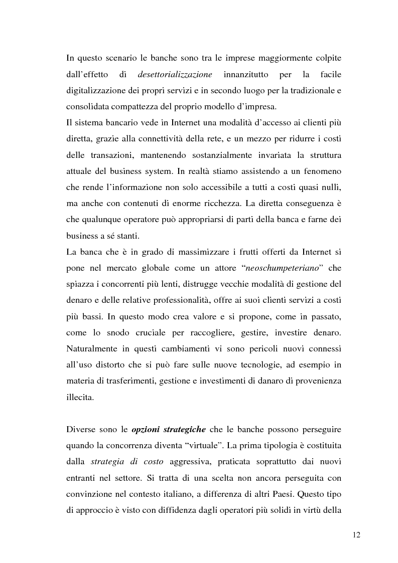 Anteprima della tesi: Il bilancio di esercizio della banca on-line, Pagina 9