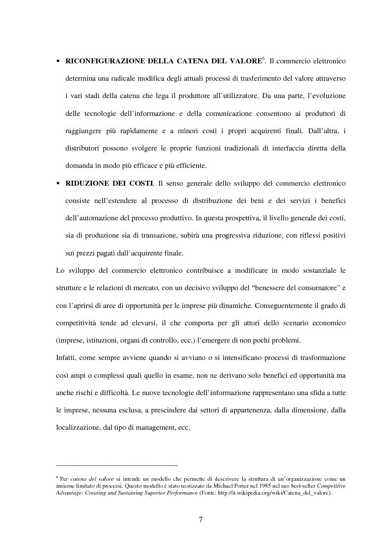 Anteprima della tesi: Il turismo on line: dalla nascita del commercio elettronico ai nuovi fenomeni di consumo turistico, Pagina 10