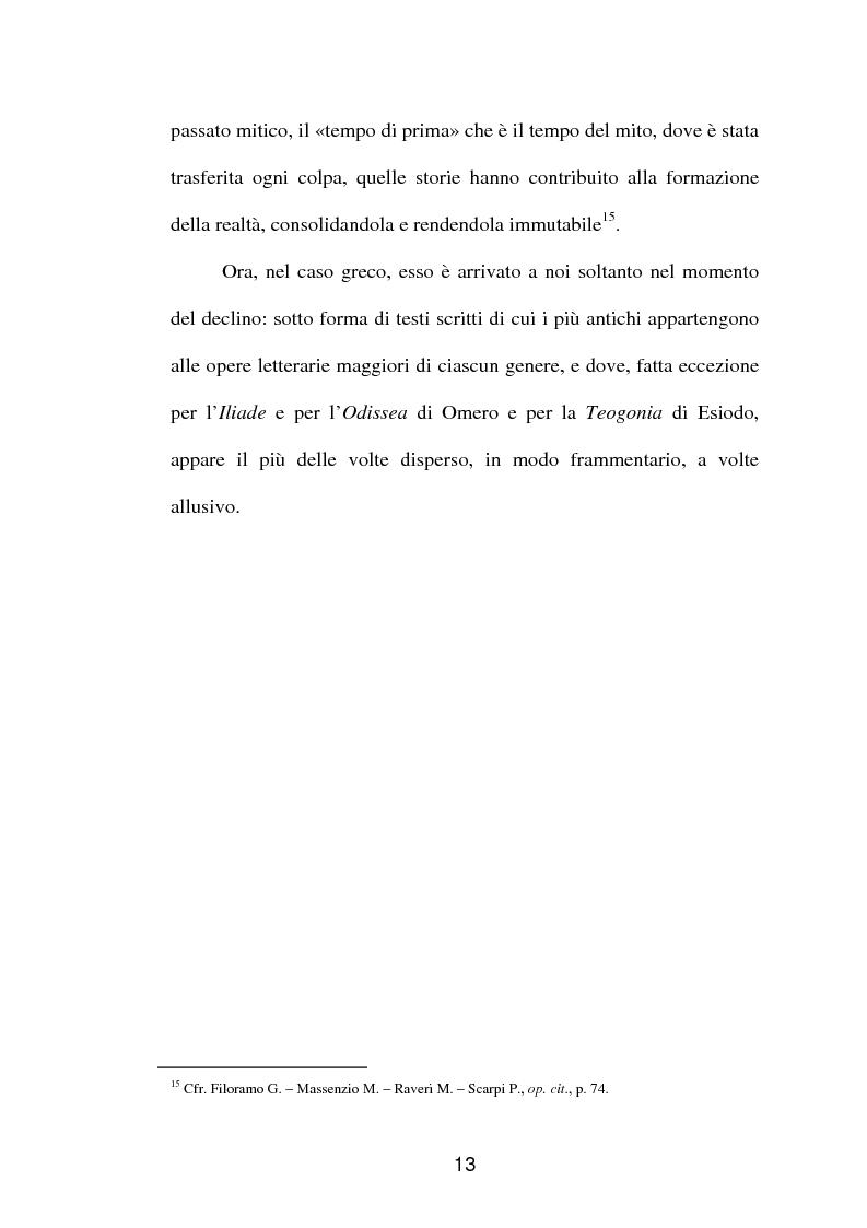 Anteprima della tesi: La fortuna del mito di Orfeo ed Euridice, Pagina 11