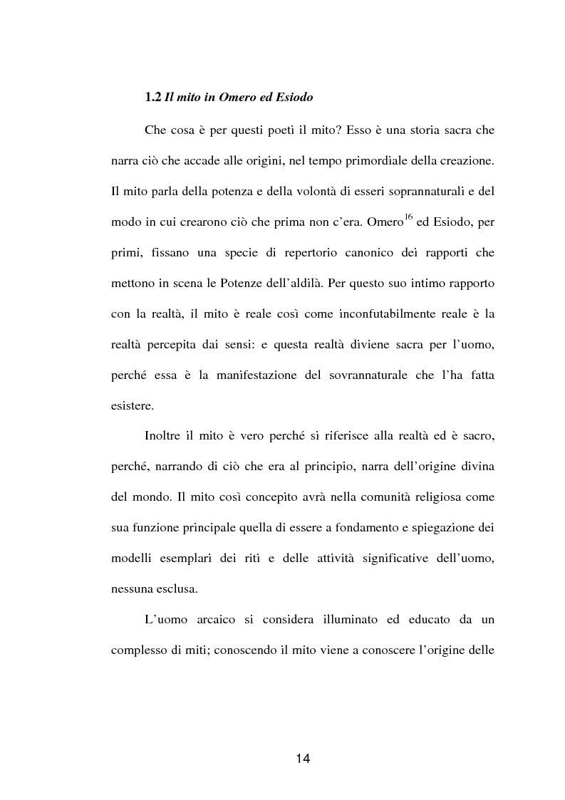Anteprima della tesi: La fortuna del mito di Orfeo ed Euridice, Pagina 12