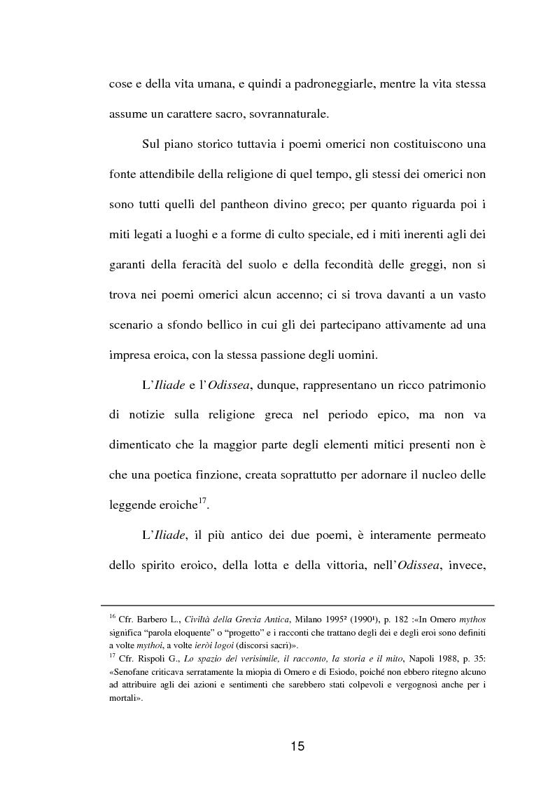 Anteprima della tesi: La fortuna del mito di Orfeo ed Euridice, Pagina 13