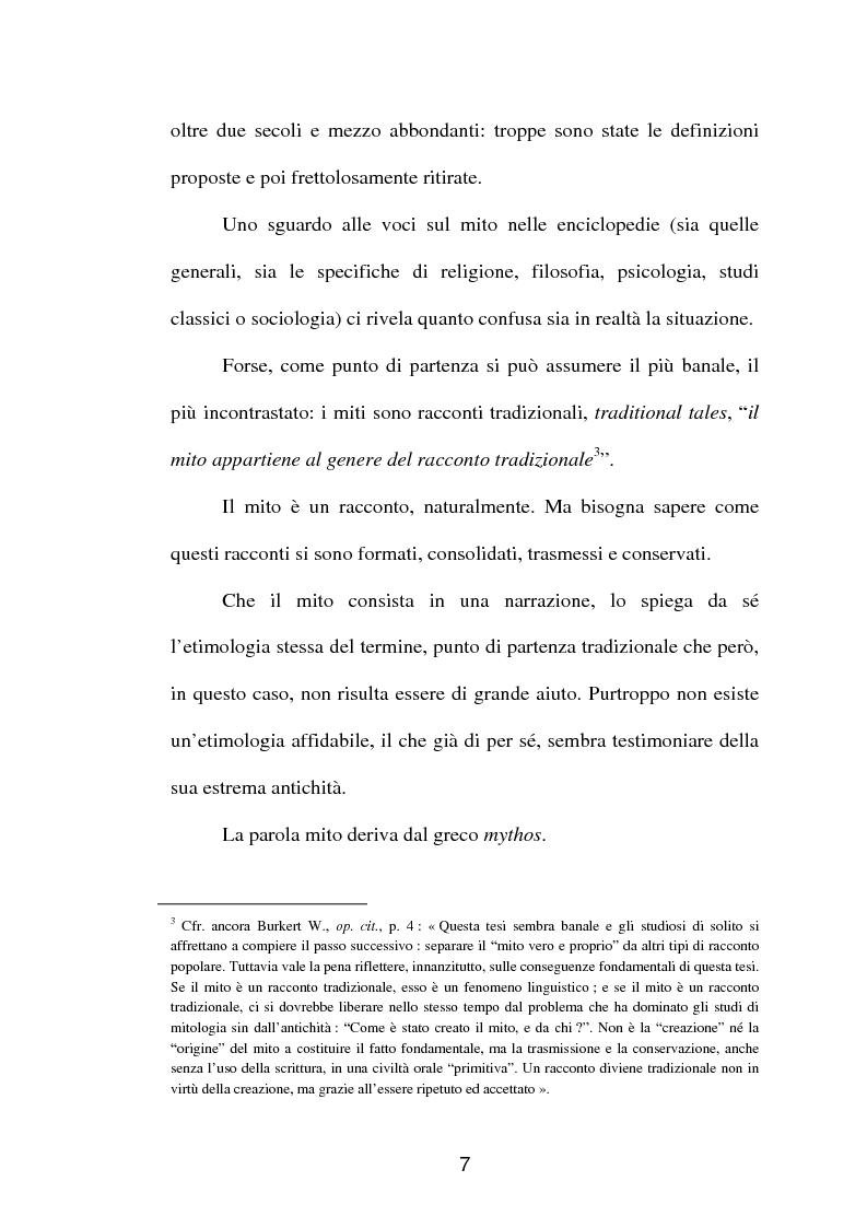 Anteprima della tesi: La fortuna del mito di Orfeo ed Euridice, Pagina 5