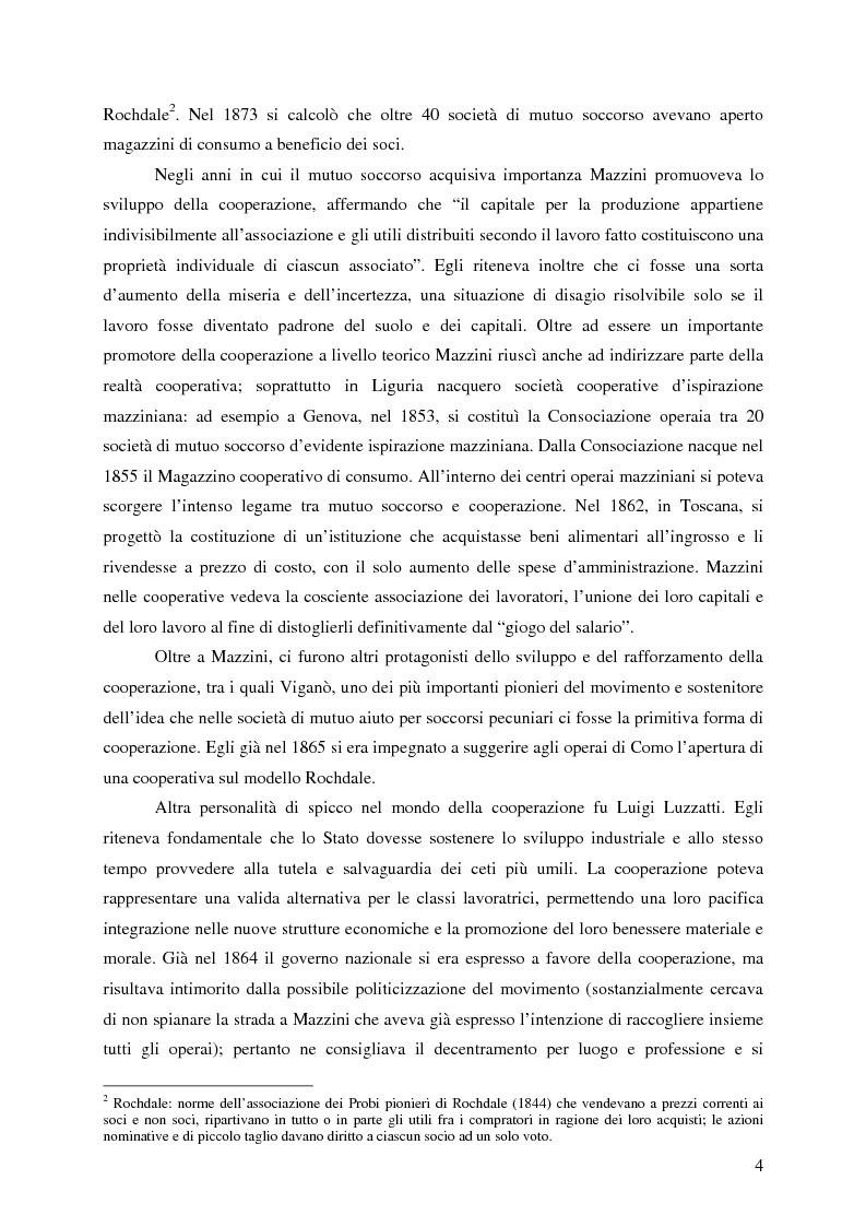 Anteprima della tesi: Lo sviluppo della cooperazione di consumo in Carnia nei primi decenni del '900: il caso COOPCA, Pagina 2