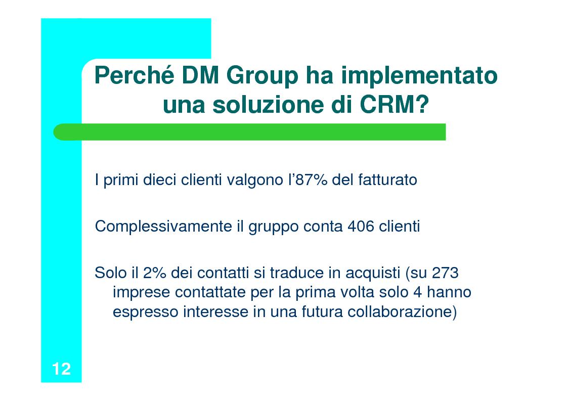 Anteprima della tesi: Il Customer Relationship Management nel B2B, Pagina 12