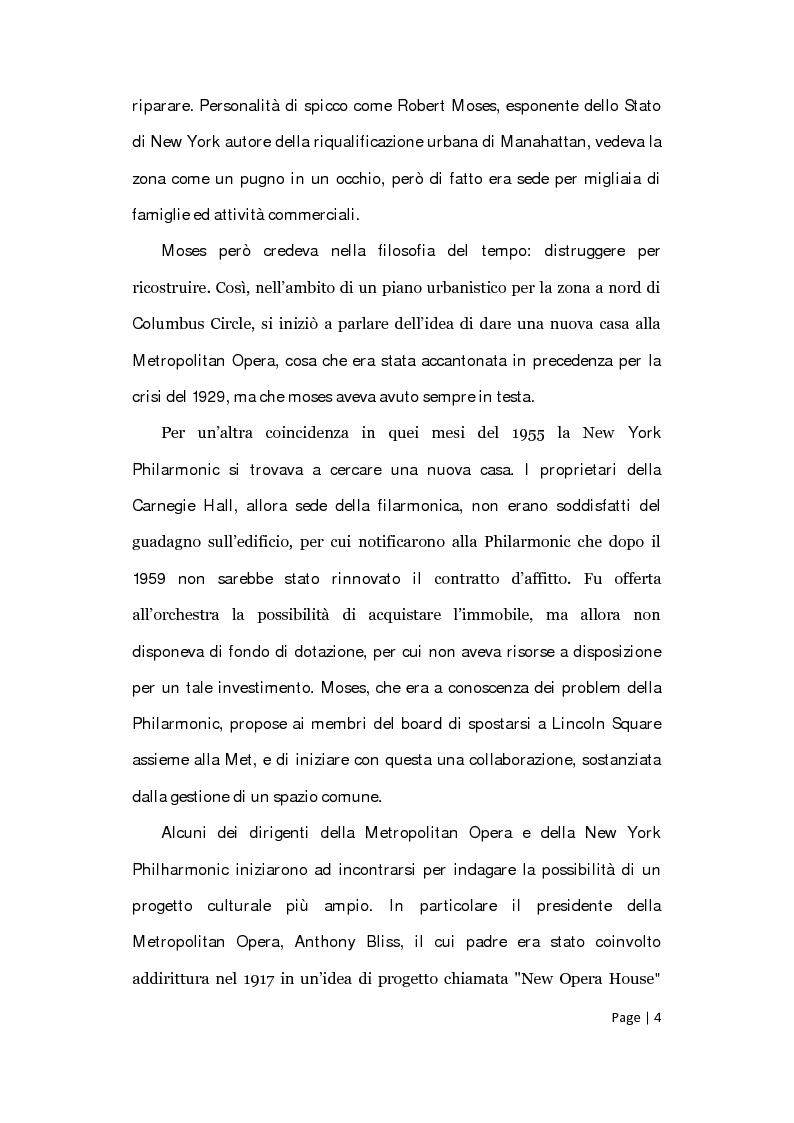 Anteprima della tesi: Il posizionamento strategico della Film Society of Lincoln Center, Pagina 3