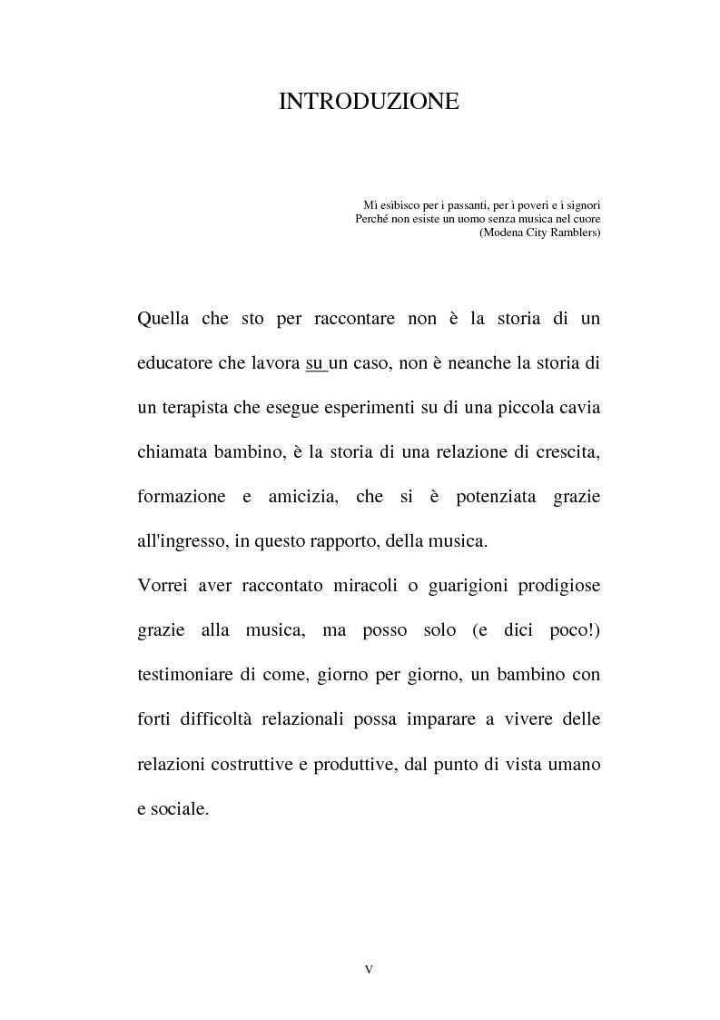Anteprima della tesi: La relazione musicale, Pagina 5