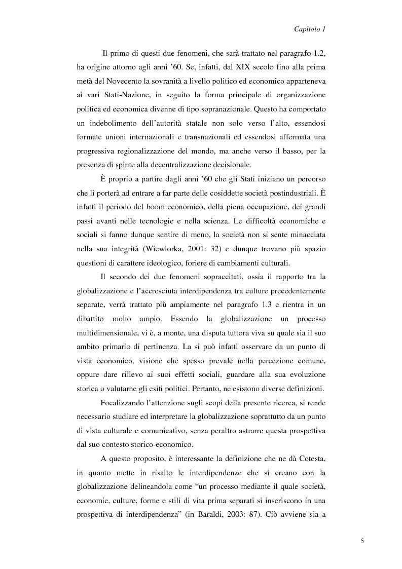 Anteprima della tesi: Il Management Interculturale: un'analisi di esperienze, Pagina 5