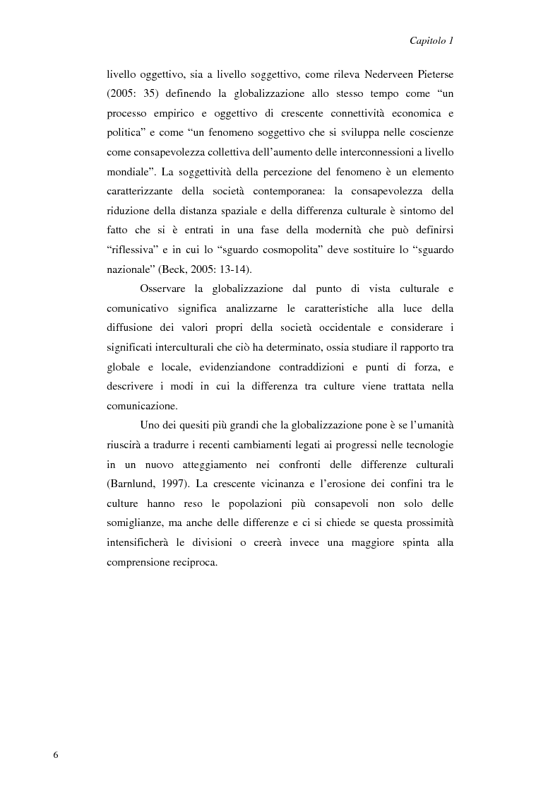 Anteprima della tesi: Il Management Interculturale: un'analisi di esperienze, Pagina 6