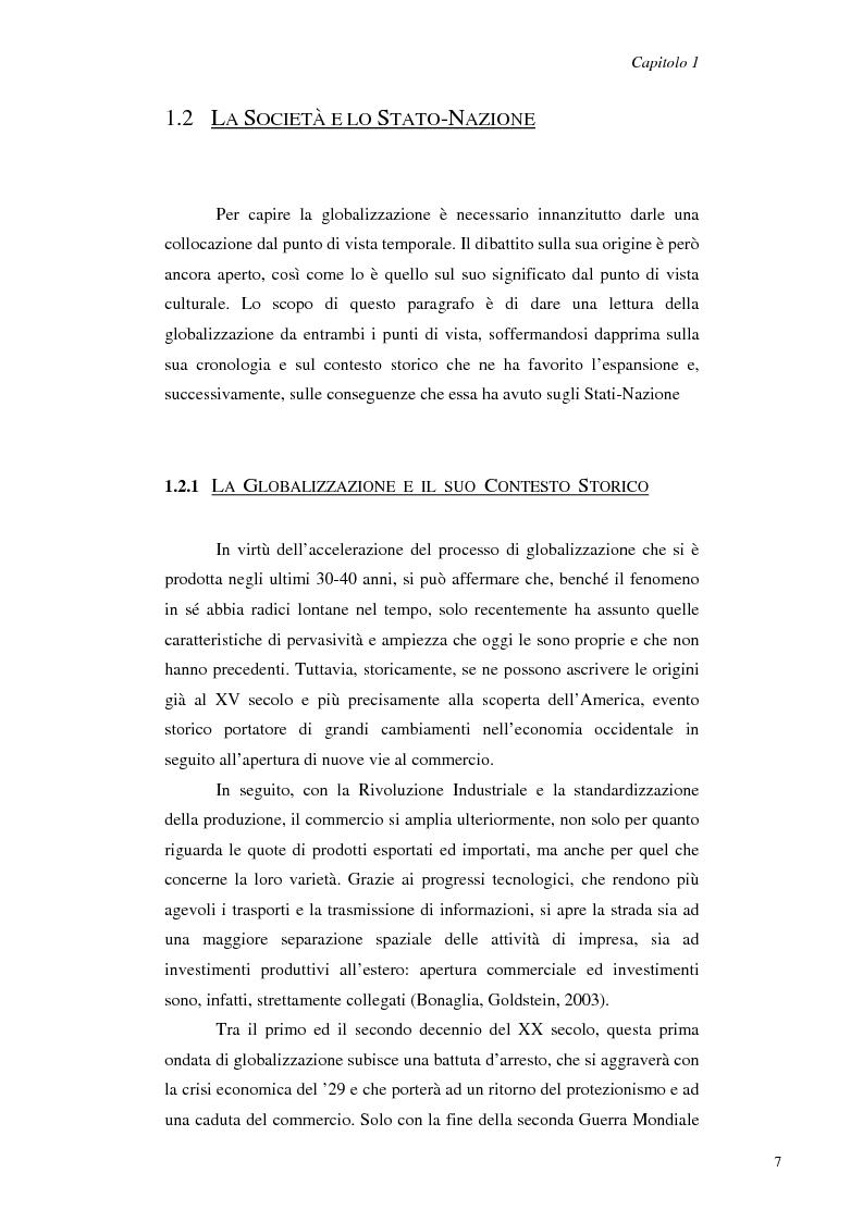 Anteprima della tesi: Il Management Interculturale: un'analisi di esperienze, Pagina 7