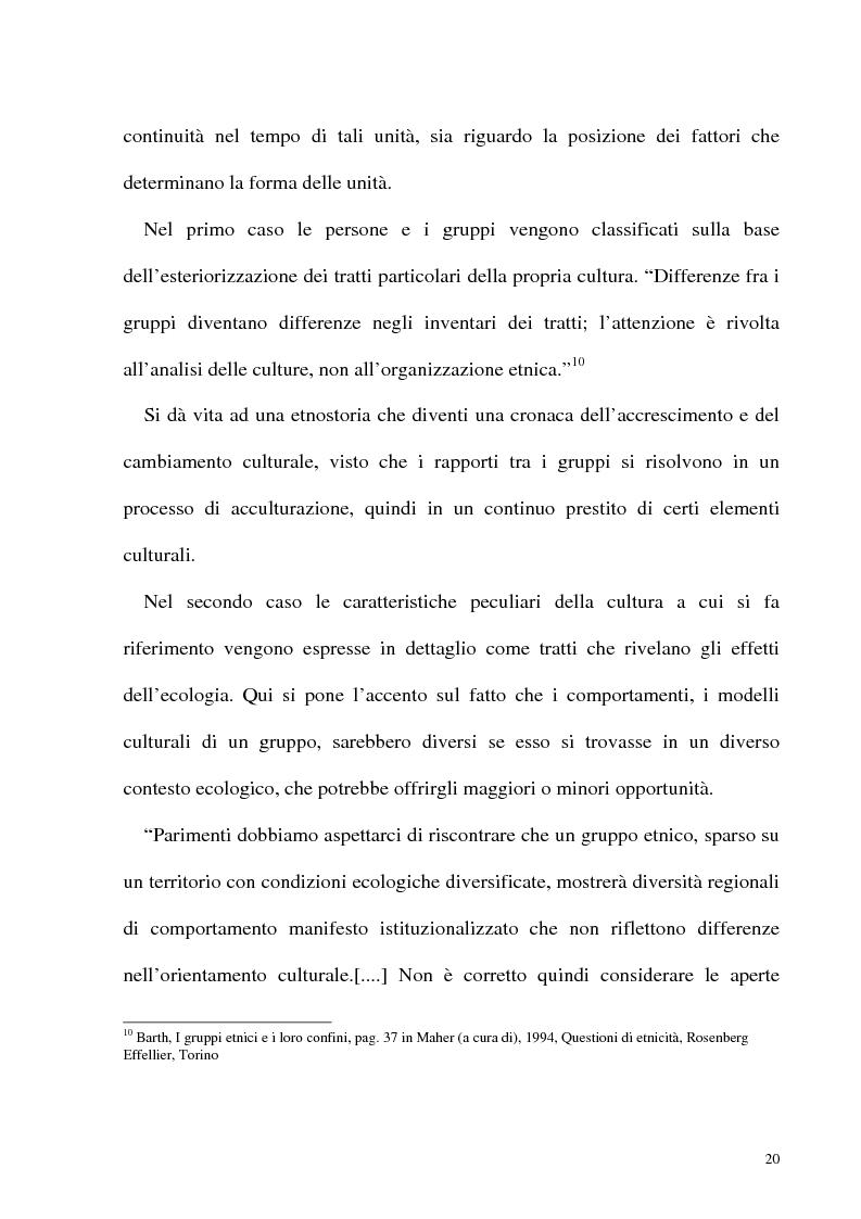 Anteprima della tesi: Le frontiere culturali del cibo, Pagina 15