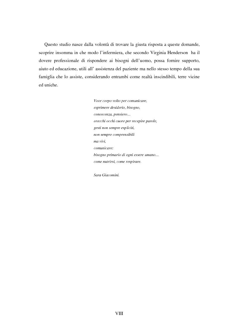 Anteprima della tesi: Valutazione del carico assistenziale del caregiver in relazione all'alterata cura di sé e deficit della comunicazione in pazienti affetti da afasia assistiti in regime domiciliare, Pagina 3