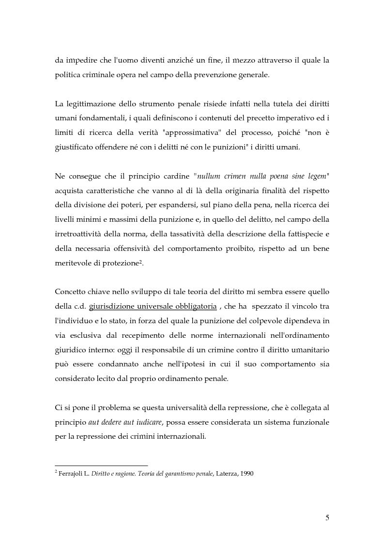 Anteprima della tesi: La punizione dei crimini internazionali, Pagina 2