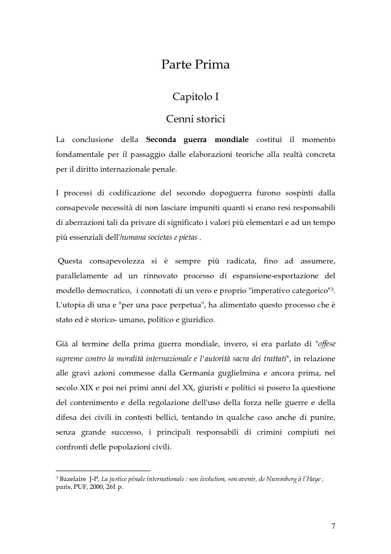 Anteprima della tesi: La punizione dei crimini internazionali, Pagina 4