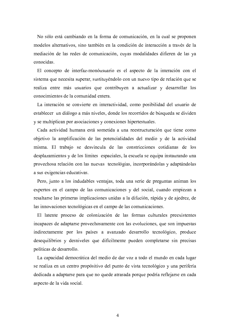 Anteprima della tesi: Internet: las nuevas fronteras de la comunicaciòn, Pagina 2