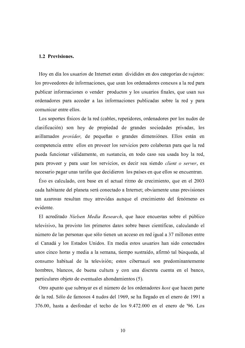 Anteprima della tesi: Internet: las nuevas fronteras de la comunicaciòn, Pagina 8