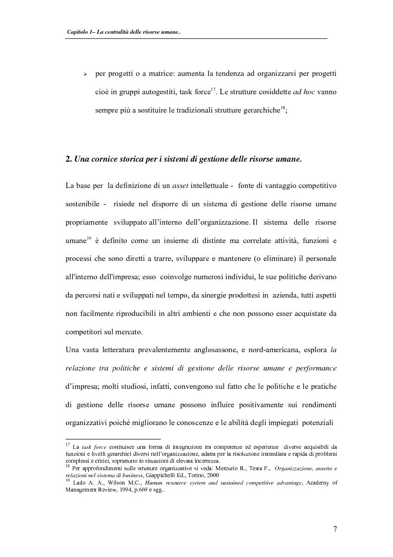 Anteprima della tesi: La valutazione delle performance delle risorse umane: il caso Indesit Company, Pagina 10