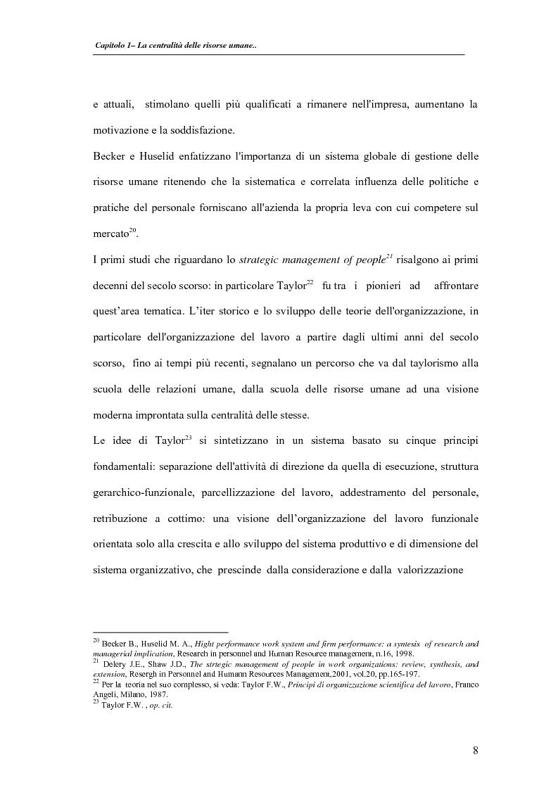 Anteprima della tesi: La valutazione delle performance delle risorse umane: il caso Indesit Company, Pagina 11