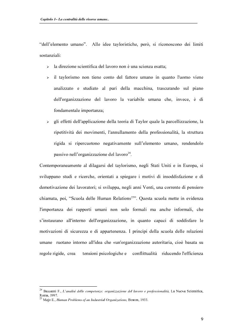 Anteprima della tesi: La valutazione delle performance delle risorse umane: il caso Indesit Company, Pagina 12