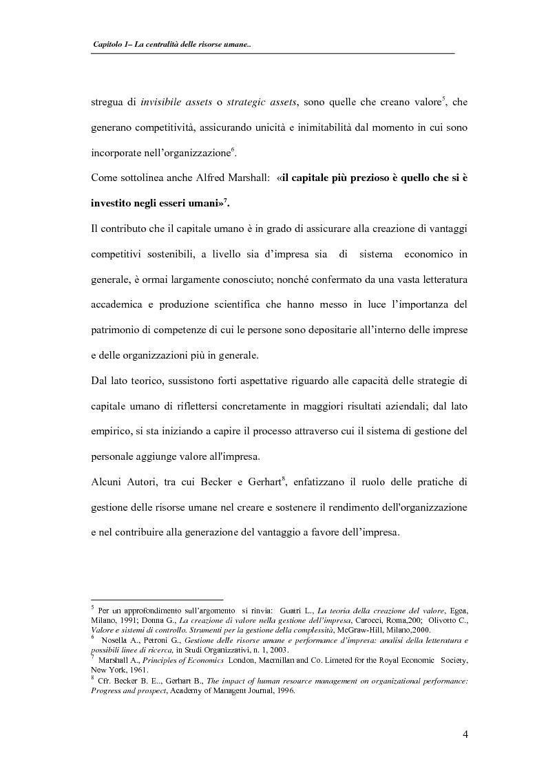 Anteprima della tesi: La valutazione delle performance delle risorse umane: il caso Indesit Company, Pagina 7