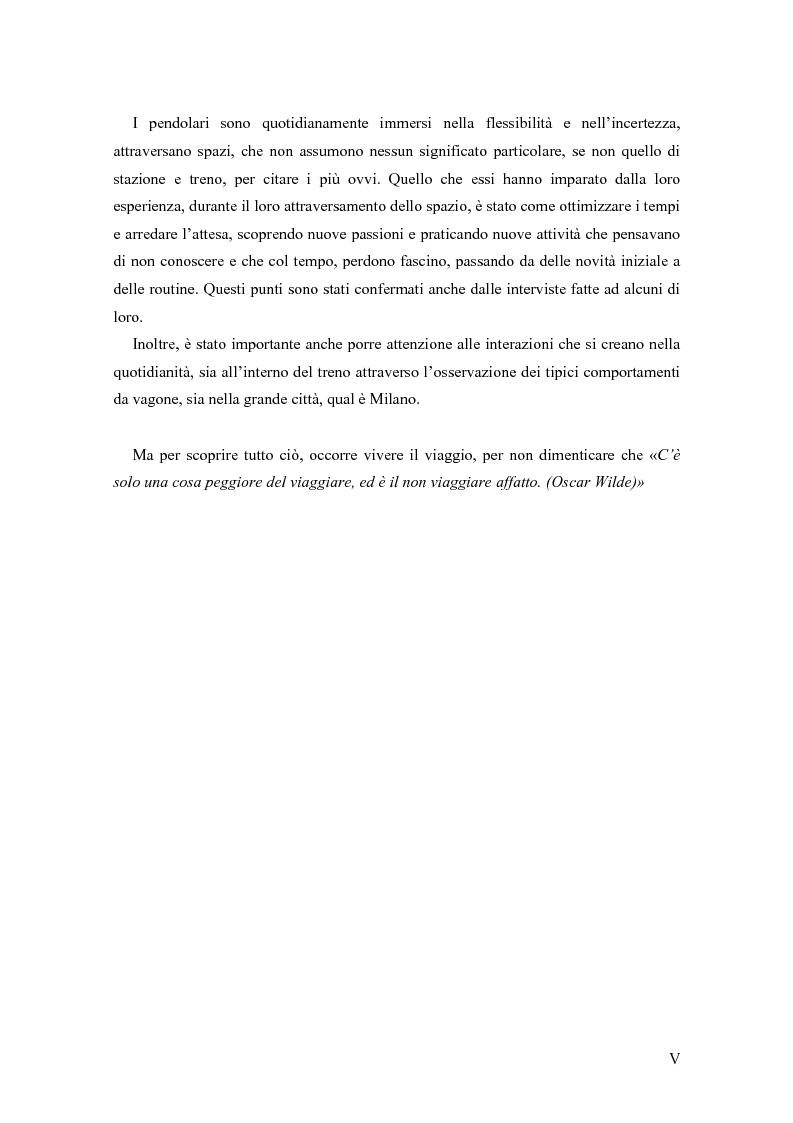 Anteprima della tesi: L'arte del viaggiare: l'etnografia del pendolare, Pagina 3