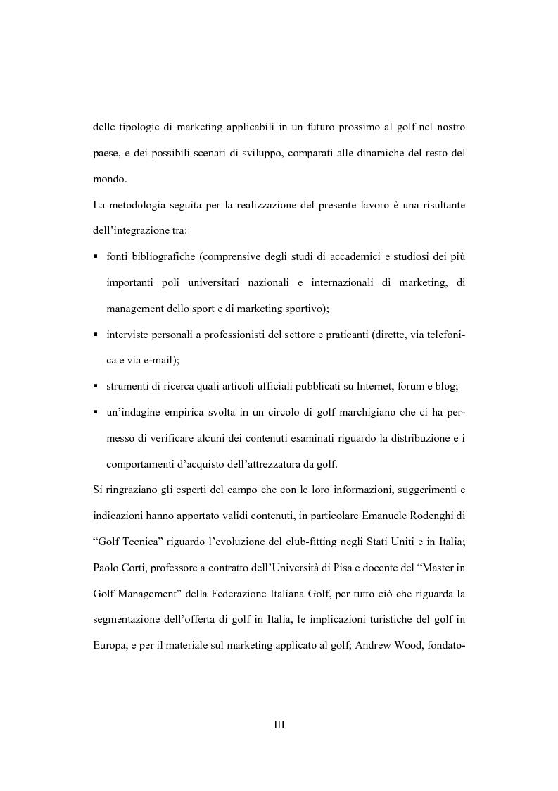 Anteprima della tesi: Il marketing dello sport: il caso del golf, Pagina 3