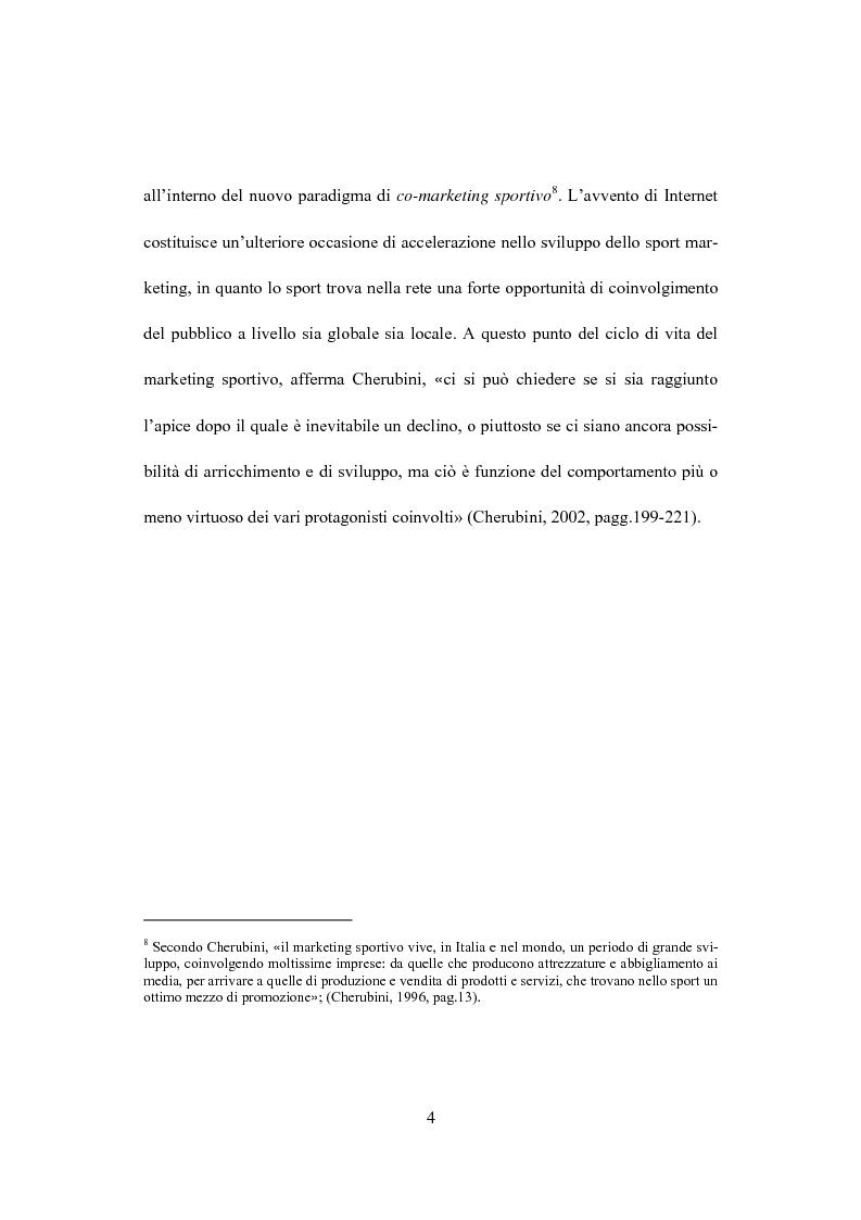 Anteprima della tesi: Il marketing dello sport: il caso del golf, Pagina 8