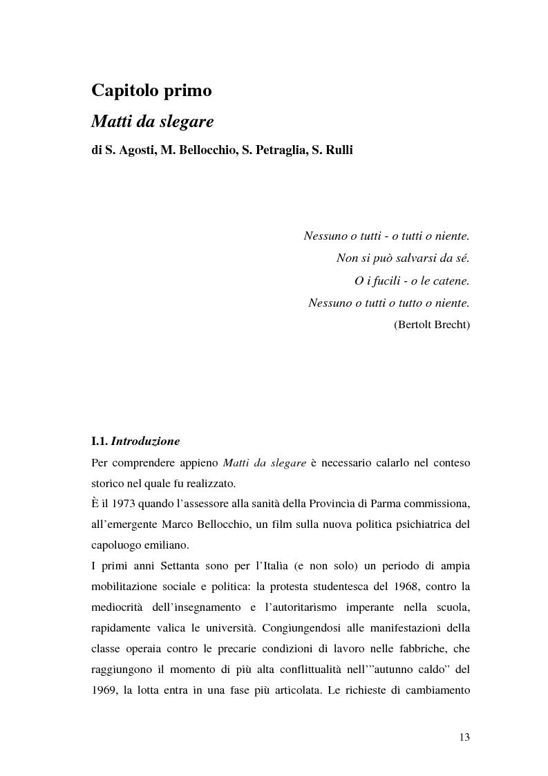 Anteprima della tesi: Oltre il dolore, oltre la pena. Cinema e handicap, quattro diversi sguardi d'autore, Pagina 10