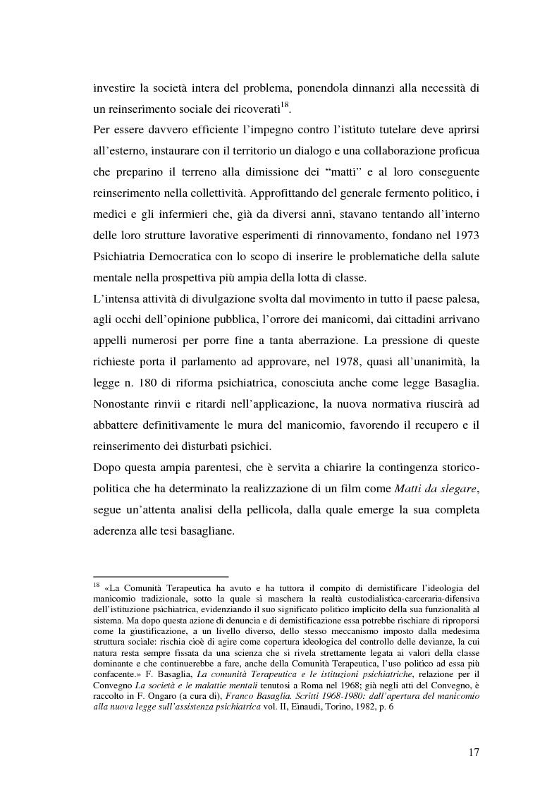 Anteprima della tesi: Oltre il dolore, oltre la pena. Cinema e handicap, quattro diversi sguardi d'autore, Pagina 14