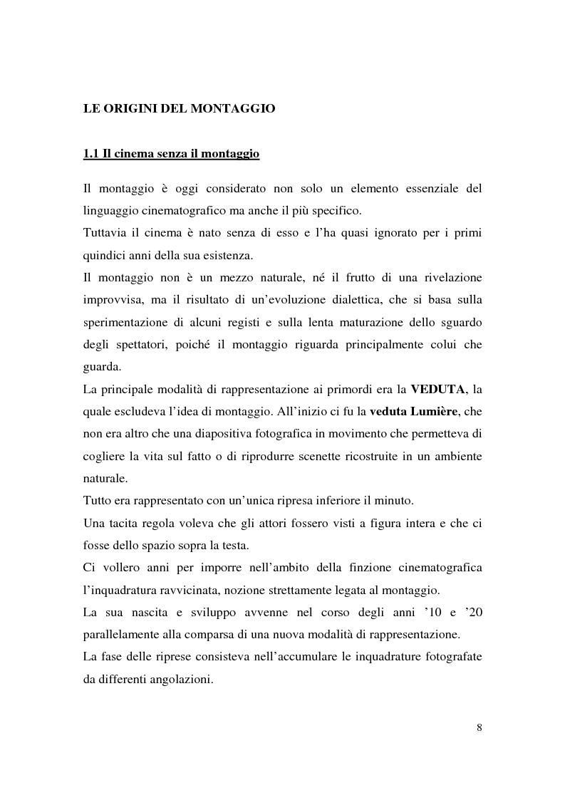 Anteprima della tesi: Montaggio e narrazione in Memento di Christopher Nolan e 21 Grammi di Alejando Gonzàlez Inarritu, Pagina 4