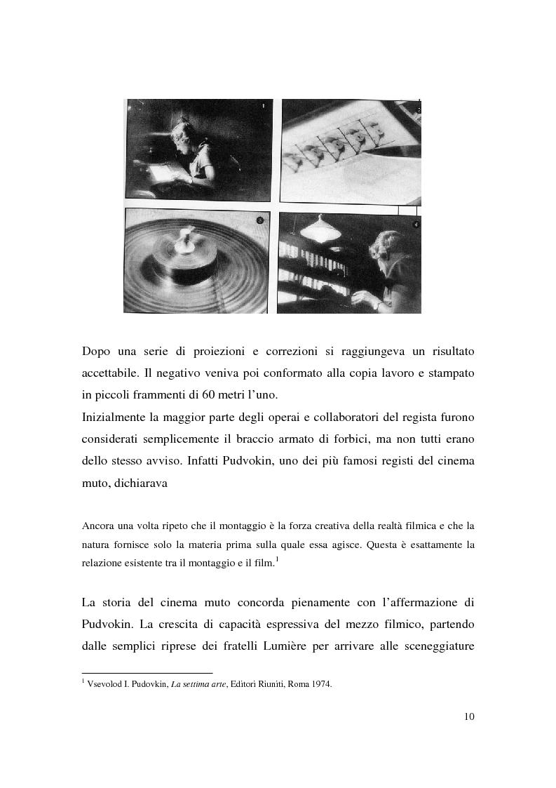 Anteprima della tesi: Montaggio e narrazione in Memento di Christopher Nolan e 21 Grammi di Alejando Gonzàlez Inarritu, Pagina 6