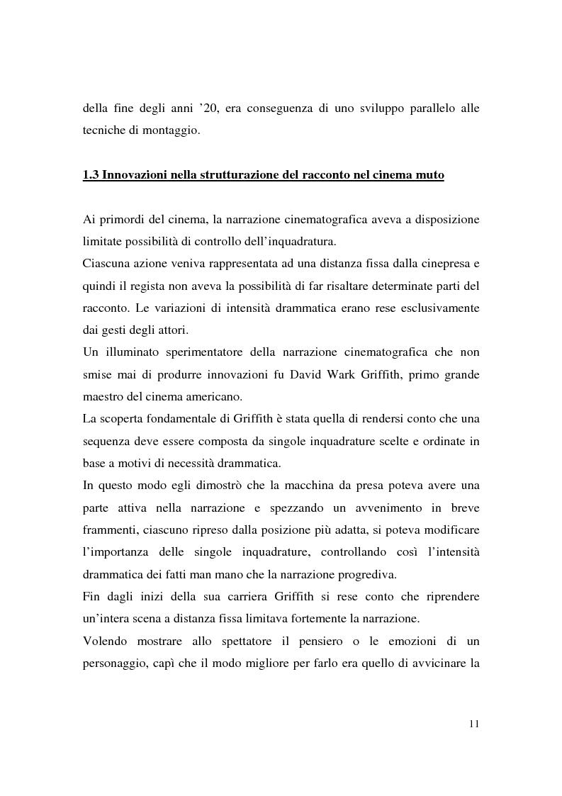 Anteprima della tesi: Montaggio e narrazione in Memento di Christopher Nolan e 21 Grammi di Alejando Gonzàlez Inarritu, Pagina 7