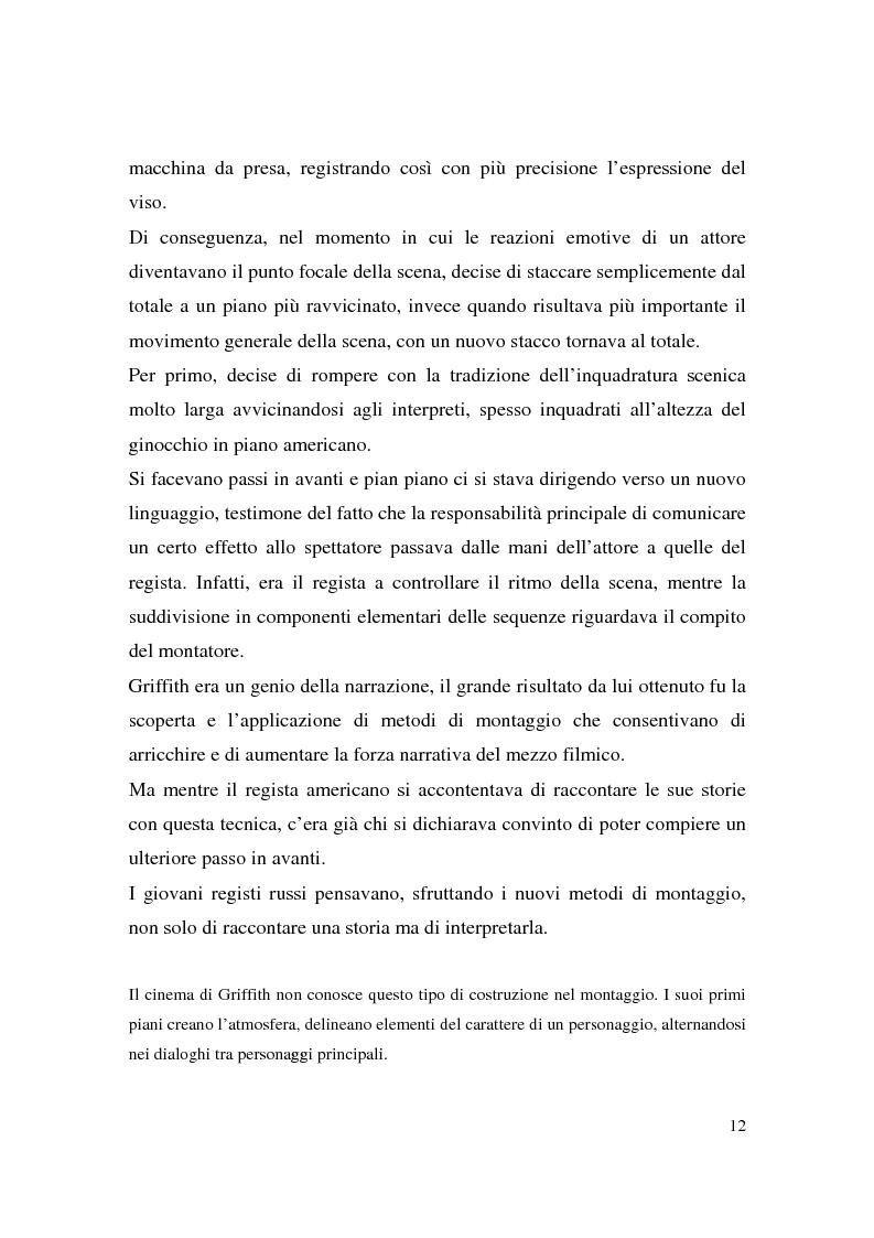 Anteprima della tesi: Montaggio e narrazione in Memento di Christopher Nolan e 21 Grammi di Alejando Gonzàlez Inarritu, Pagina 8